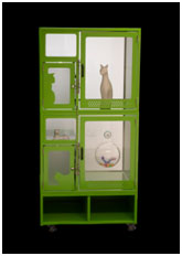 """Direct Animal image: Our beautiful, clean presentation makes it the best cat condo for telling prospective cat owners, """"This animal has been well taken care of and it's safe to introduce him/her to my home and my other animals."""""""