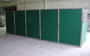 Dog Kennel Starlite Back Panel