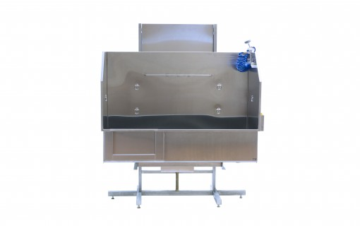 """Pet professionals are LOVING our hydraulic """"Next Generation of Dog Grooming Tubs."""""""