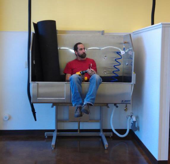 Hydraulic Grooming Tub