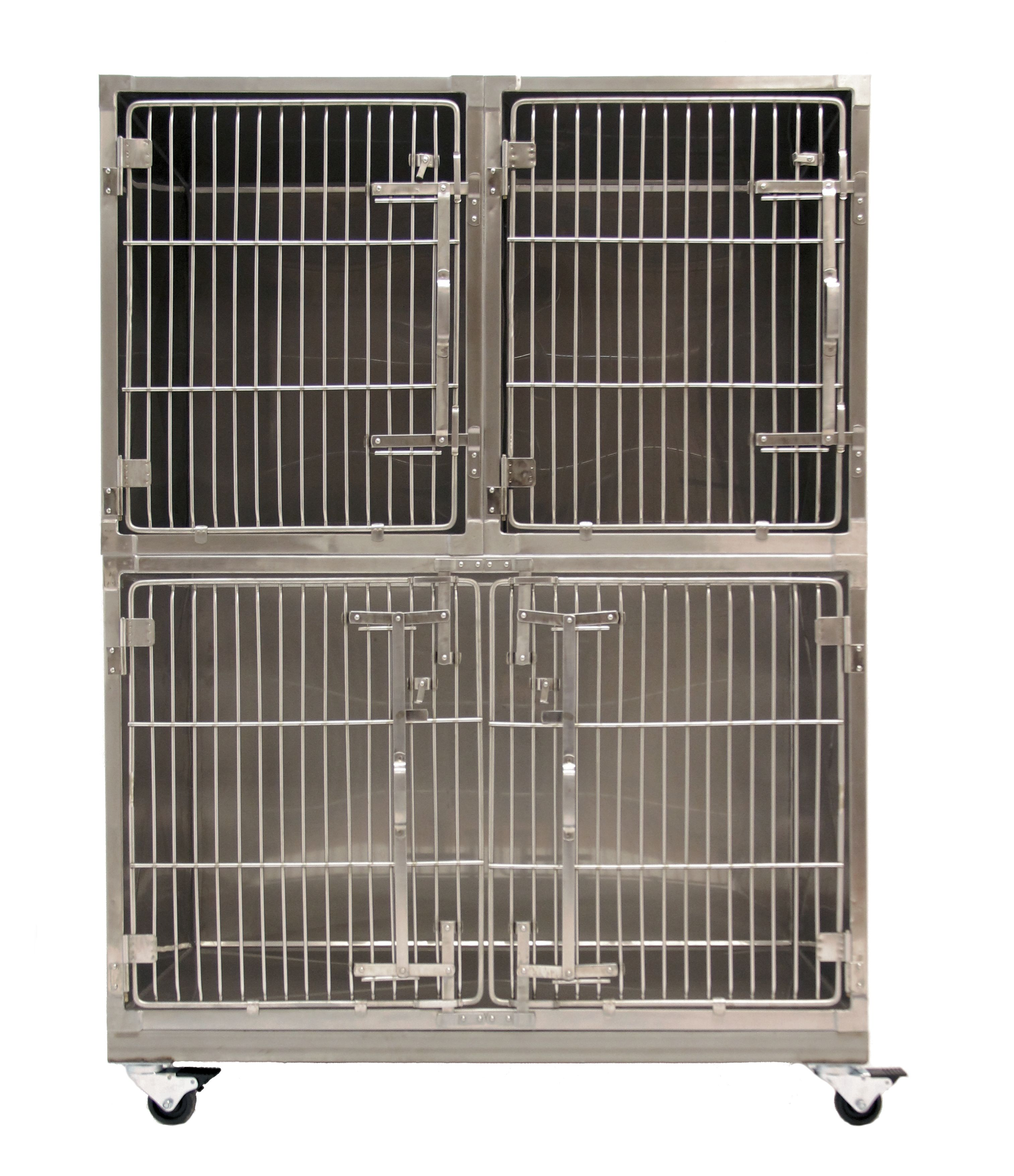 Metal Shelter Cat Kennels : Custom gallery dog kennels wash tubs stainless