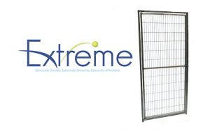 Built to fit perfectly with the Direct Extreme Kennel System: stainless steel rod kennel doors, hand-welded for safe, lasting performance that won't warp or collect fur