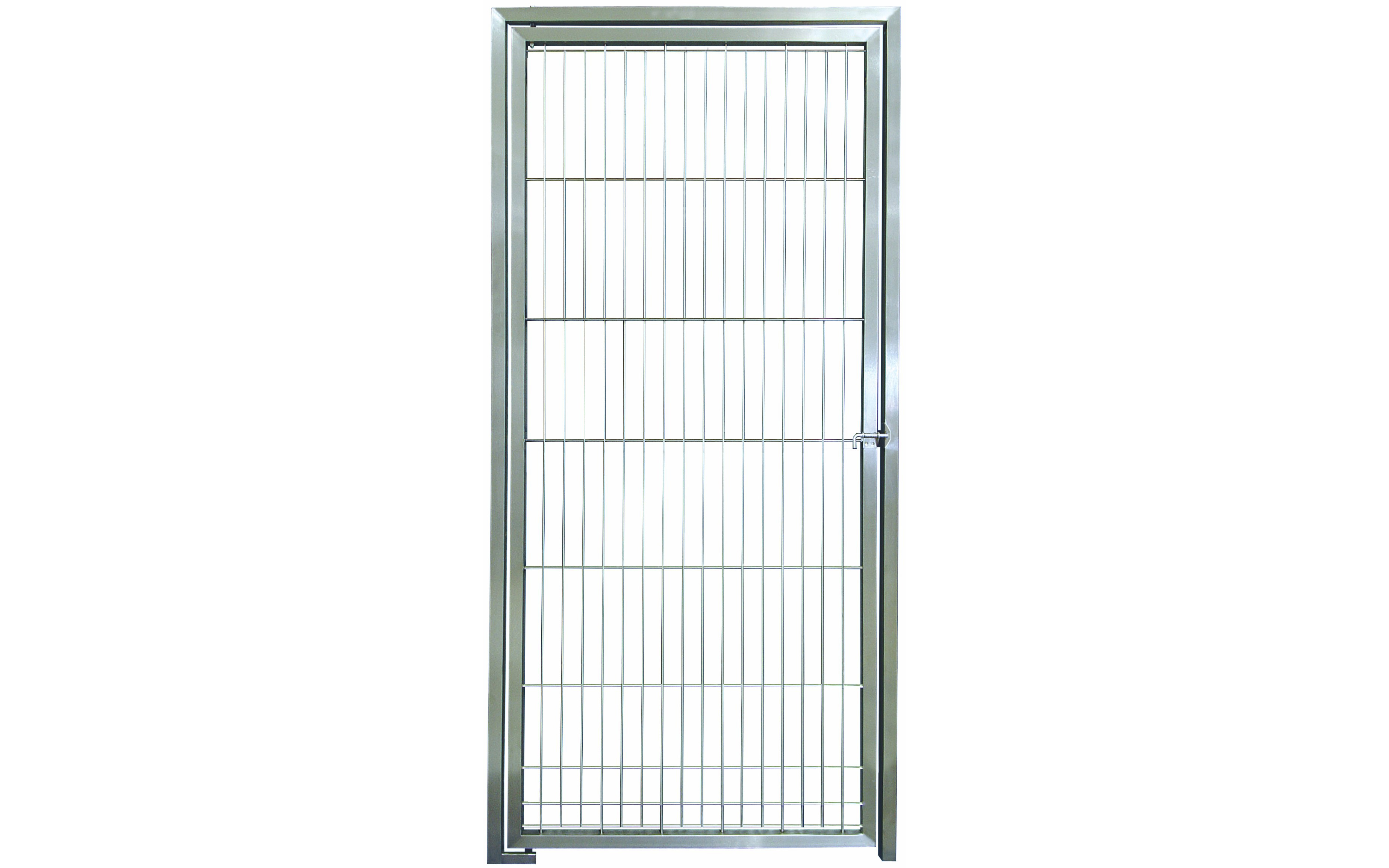 Stainless Steel Dog Kennel Rod Doors Hand Welded To Last A