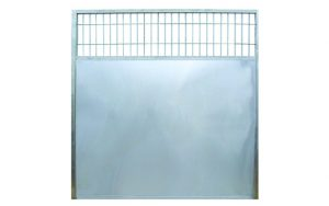Dog Kennel Side Panel Stainless Steel