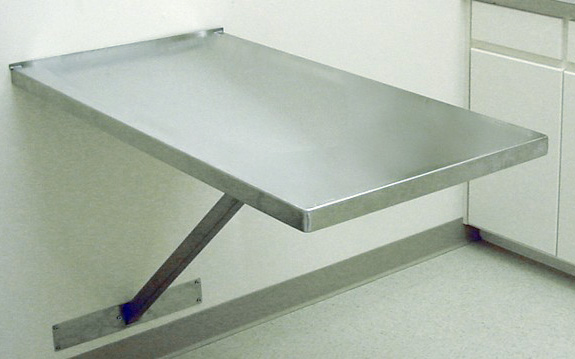 Veterinary Wall Mount Fixed Exam Table Direct Animal