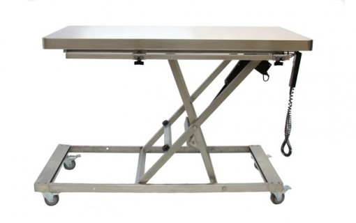 Animal Lift Table With Scale : Mobile electric scissor lift gurney direct animal