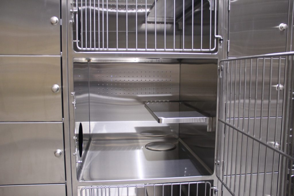 Stainless Steel Cat Condos