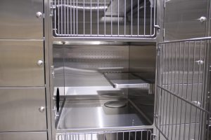 Triple Stack Stainless Steel Cat Condo