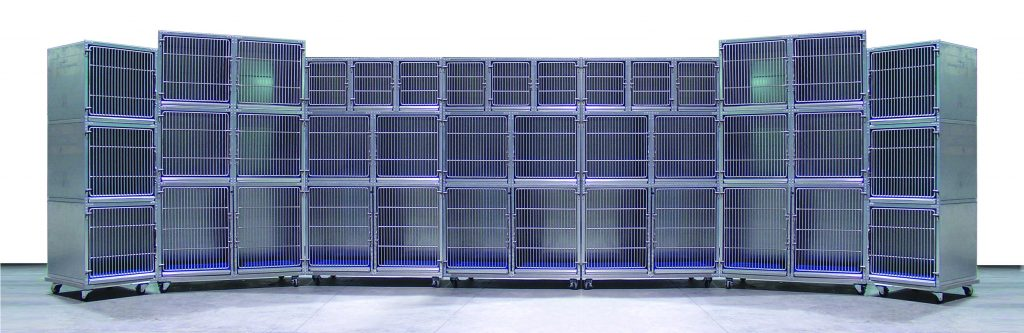 Large and Small Animal Cages and Cage Panels