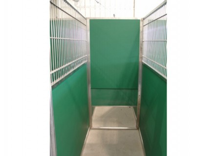 Dog Kennel Guillotine Door For Managing Frisky Pups In