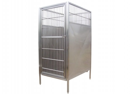 Raised Dog Kennel Designs Keep Pets Off The Floor Out Of