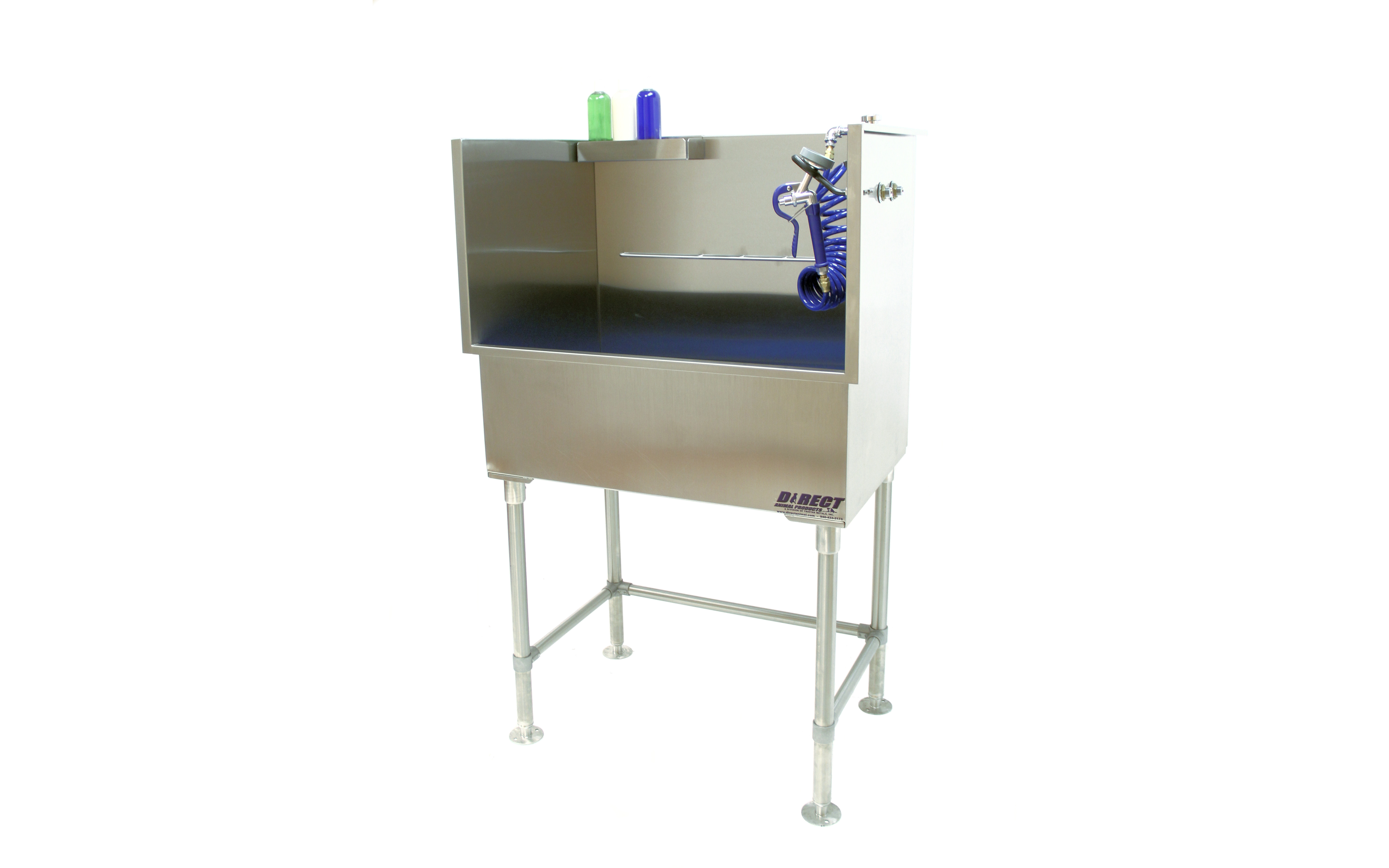 Stainless Steel Elevated Grooming Tub Direct Animal