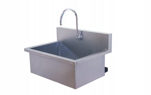 Direct Animal photo: All veterinary scrub sinks are not the same! Our American-made all stainless steel sink includes extras you won't find anywhere else.