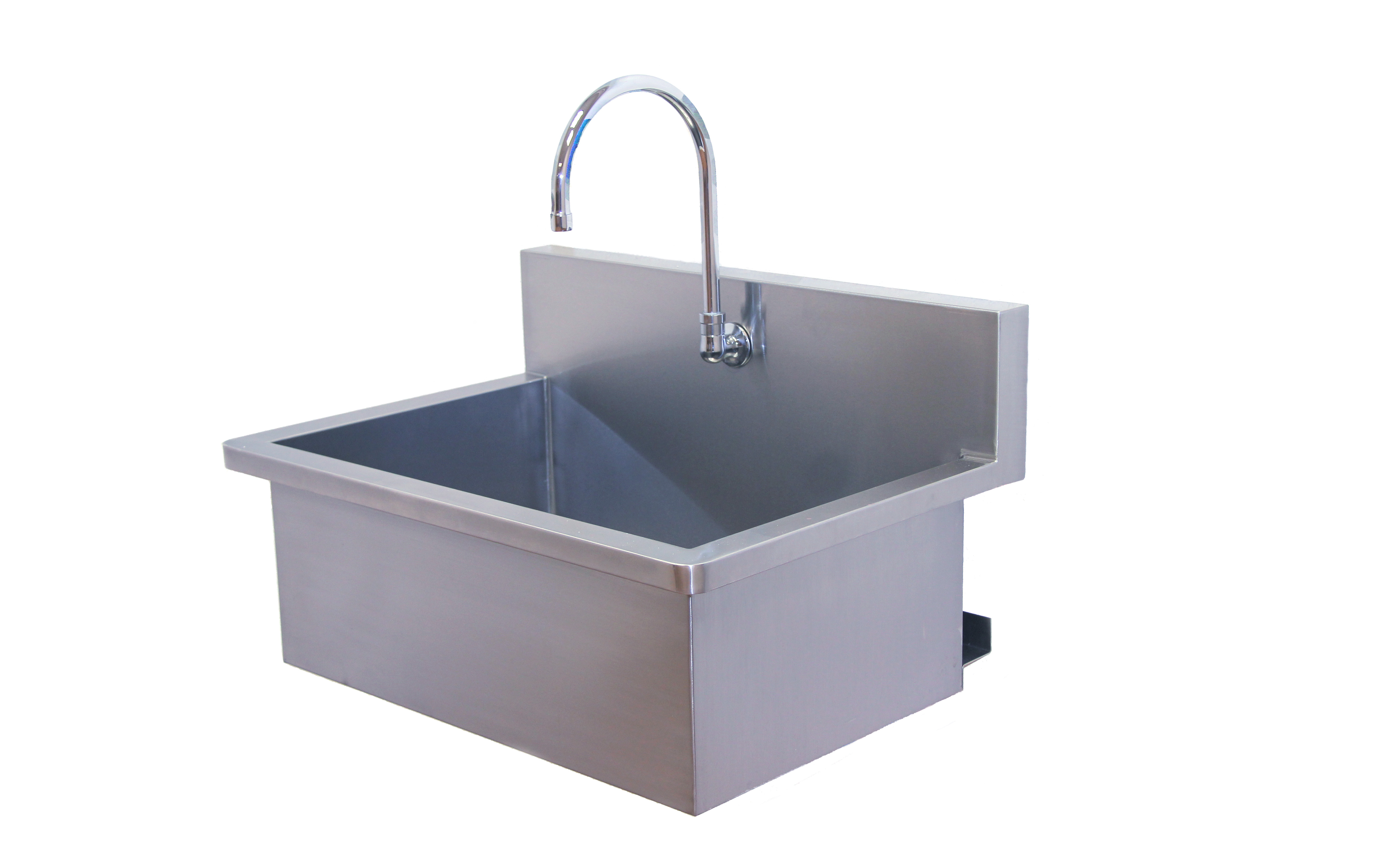 Exceptionally reliable veterinary surgical scrub sink from direct animal - American made stainless steel sinks ...