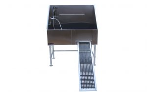 Removable Ramp 48″ Grooming Tub