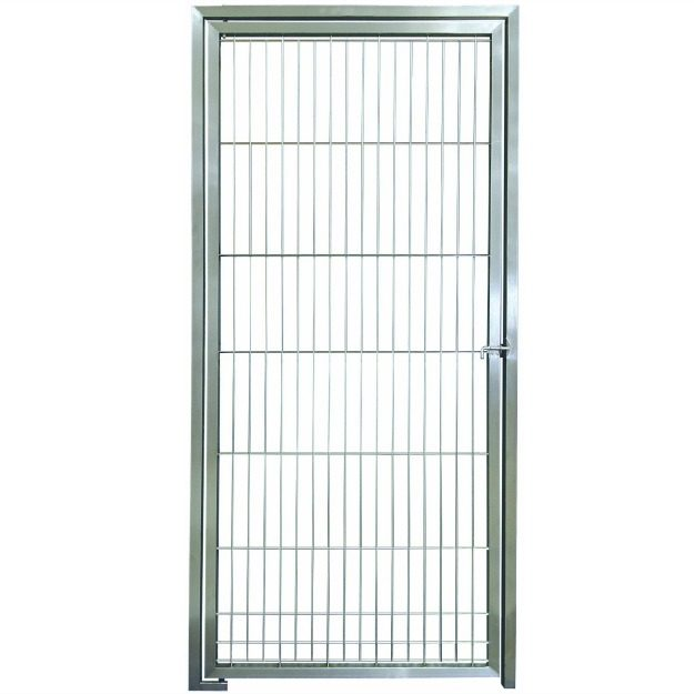 D1036-KD - 36 inch Hand Weld Stainless Steel Dog Door by Direct Animal Products
