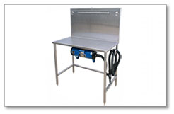 Direct Animal blog: Our electric dog drying table is perfect for condo or apartment pet spas.